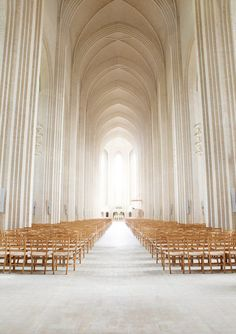 Grundtvig's Church, Copenhagen, Denmark. It's decided. This is my wedding location.