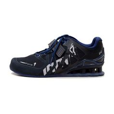 Again Faster - Equipment for CrossFit - AF FastLift - Blue/Black Workout Shoes, Workout Gear, No Equipment Workout, Fitness Equipment, Running Man Logo, Reebok Training Shoes, Fitness Fashion, Fitness Clothing, Crossfit Clothes