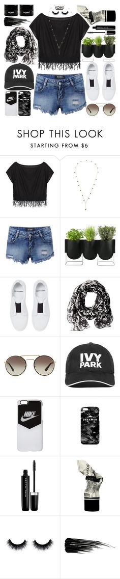 """""""Rock Concert"""" by vanjazivadinovic ❤ liked on Polyvore featuring Authentics, Pierre Hardy, Calvin Klein, Prada, Ivy Park, NIKE, Mr. Gugu & Miss Go, Marc Jacobs, Urban Decay and polyvoreeditorial"""
