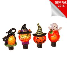 "The Jolly Christmas Shop - 6.5"" Acrylic Cat, Pumpkin, or Ghost Halloween Night Light 2303400, $8.49 (https://www.thejollychristmasshop.com/6-5-acrylic-cat-pumpkin-or-ghost-halloween-night-light-2303400/)"