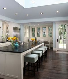 The perfect kitchen island