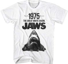 Great White Shark Tee. No snark, just changed my view of the ocean forever.