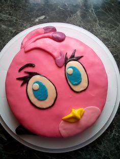 birthday cake Angry Birds Stella