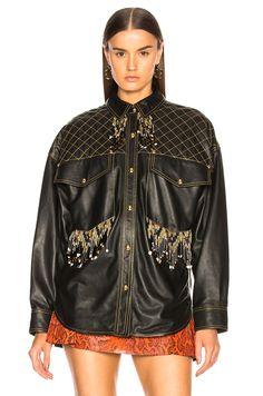 Image 2 of Acne Studios Arlari Jacket in Black