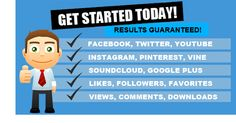 AWARD-WINNING SOCIAL MEDIA MARKETING SERVICE! -Low Prices. Great Results...
