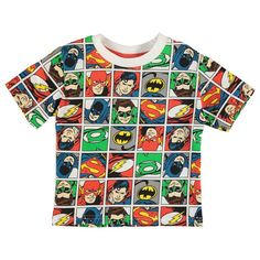 Boys DC Comics Justice League T Shirt