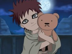 Gaara as a child