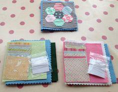 Hexagon needle book kits
