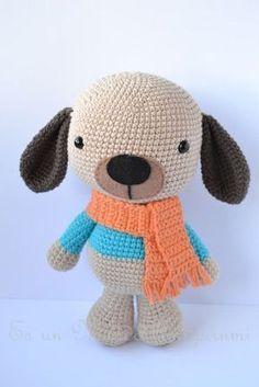 It is a Amigurumi World: Dog / Little Dog (Free Pattern / Free Pattern) Crochet Amigurumi, Amigurumi Doll, Crochet Dolls, Best Birthday Gifts, Crochet Patterns Amigurumi, Love Crochet, Stuffed Toys Patterns, Crochet Animals, Doll Face