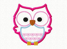 ON Sale Instant Download Machine Applique Embroidery Design, Cute Owl Applique, Embroidery For Kids Baby, Cute Owl Embroidery, 4X4 5X7 6x10 by JaggyCrafts on Etsy https://www.etsy.com/listing/208954397/on-sale-instant-download-machine