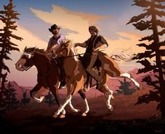 Video Games Funny, Funny Games, Red Dead Redemption Game, Character Art, Character Design, Critical Role Characters, Read Dead, Horse Drawings, Le Far West
