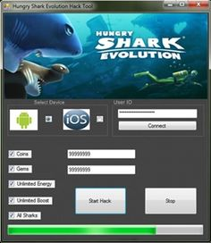 Hack Hungry Shark Evolution http://gamesfixer.com/hungry-shark-evolution-hack/