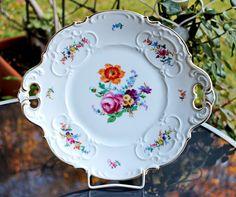 Lovely Vintage Platter Hutschenreuther by AntiqueBoutiqueIdeas