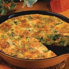Packed with broccoli, eggs and cheese, this is a delicious way to include protein and vegetables in a hearty breakfast or skillet supper.