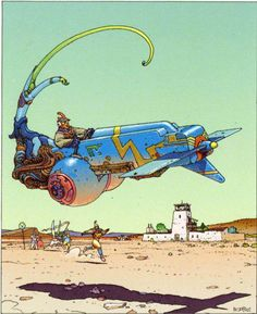 Moebius's work just glows.