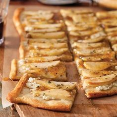 Perfect for book club or movie night, this flatbread is a flavorful and easy appetizer to serve up. Feel free to mix and match your favorite toppings, but try this Balsamic-Fig Glazed Pear version first. You won't regret it.