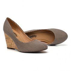 Sapato Anabela Alto | Piccadilly