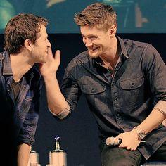 Jensen and Misha ~ Supernatural