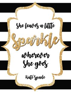 Kate Spade Inspired Quote Signs Birthday Fiesta Baby Shower Weddings Bridal Shower by ElleGDesignsUSA on Etsy