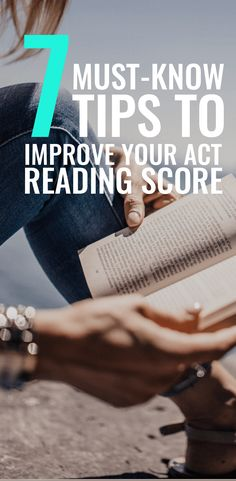 These must-know tips will help you increase your ACT Reading score! College Test, College Essay, Online College, Study Skills, Reading Skills, Sat Reading, Act Test Prep, Test Preparation, Sat Tips