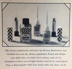"Helena Rubinstein ""Lightworks"" Makeup, 1967"