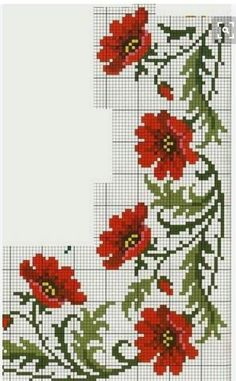 Thrilling Designing Your Own Cross Stitch Embroidery Patterns Ideas. Exhilarating Designing Your Own Cross Stitch Embroidery Patterns Ideas. Cross Stitch Rose, Cross Stitch Borders, Cross Stitch Flowers, Cross Stitch Designs, Cross Stitching, Cross Stitch Patterns, Embroidery Patterns Free, Diy Embroidery, Cross Stitch Embroidery
