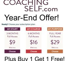 MyCS Year-end offer Buy 1 Get 1, Coaching, Motivation, Blog, Training, Determination, Inspiration