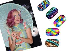 Katy Perry and Minx Nails