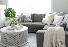 1000+ ideas about Gray Sectional Sofas on Pinterest | Grey ...