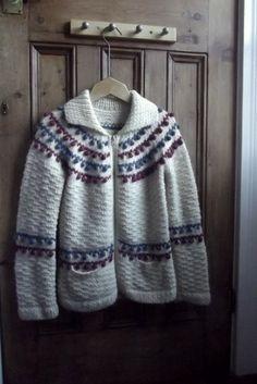 Womens clothing / cream jumper / bobble by DollyTopsyVintage