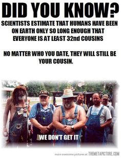 We are all related…
