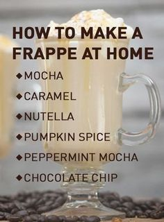 How to Make a Frappé in a is part of How To Make A Frappe Steps With Pictures Wikihow - Easily make your own frappe at home in a Blendtec and save time, money and even calories Get the recipe here Coffee Drink Recipes, Coffee Drinks, Iced Coffee, Coffee Syrups, Coffee Time, Blender Recipes, Vitamix Recipes, Milk Recipes, Smoothie Drinks