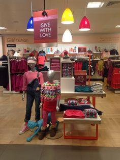 Kids visual merchandising display