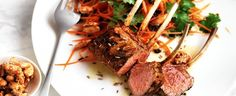 Moroccan Lamb with Carrot Salad & Honey Almonds recipe, brought to you by MiNDFOOD.