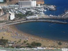 Playa Puerto Rico en Mogán, Canarias