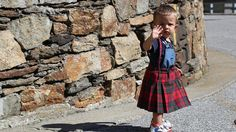 Tartan underskirts and Gaelic words. Why does an Italian village look and sound like Scotland?