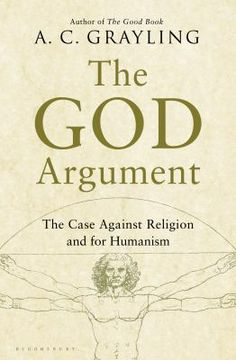 "The God Argument, by A.C. Grayling. Call number: BL2747.6 .G73 2013. ""London-based academic and philosopher Grayling has the sharp analytical mind of fellow naysayer Richard Dawkins, though he is gentler about saying no to God or god or gods...readers looking for fire-and-brimstone contrarianism will want to turn to Dawkins or the late Christopher Hitchens instead. Mild though the rebuke is, a readable and persuasvie argument - if, of course, an exercise in preaching to the choir."" -Kirkus"