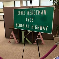 Ribbon cutting for the Eufala, Oklahoma highway named in memory of AKA co-founder Ethel Hedgeman Lyle to be held on August 8, 2015. Yes, we PAVED the way!