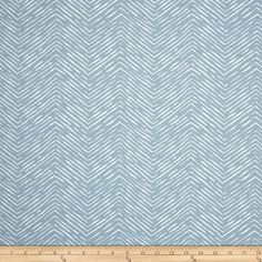 Premier Prints Cameron Cashmere Blue Fabric:The small chevron print upholstery fabric on the pictured Living room couch reminds me of this fabric—which would be super affordable if you need several yards for reupholstering. $10.98 + $2.00 shipping