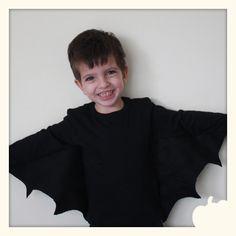 DIY Kid's Bat Costume