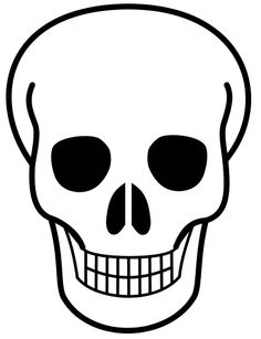 free printable pictures of skulls file skull icon svg wikimedia