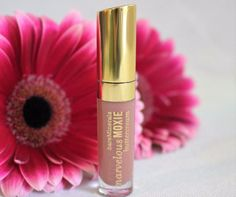 BAREMINERALS Mini Marvelous Moxie Lip Gloss (0.07 oz.) - Tantalizing Honey #BareEscentuals $7.06 available @ stores.ebay.com/kleeneique #kleeneique