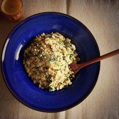バターと塩胡椒だけでシンプルに♪ - 22件のもぐもぐ - セロリ葉とじゃこの焼きめし。 by melua