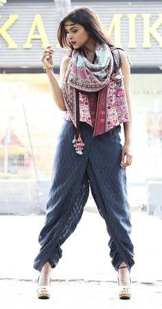 achkan style dhoti