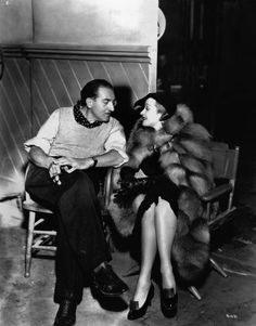 Fritz Lang and Marlene Dietrich