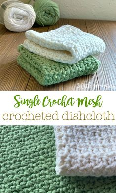 Crochet Geek, Crochet Gifts, Learn To Crochet, Easy Crochet, Crochet Hooks, Free Crochet, Knit Crochet, Crochet Dishcloths, Crochet Kitchen