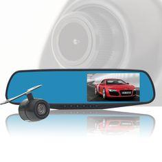 "4.3"" Car Dvr nuoyun NY-D19 Dvrs 140 Degree Wide Angle  dvr  hd 1080 P  Car Camera Recorder Motion Detection Night Vision"