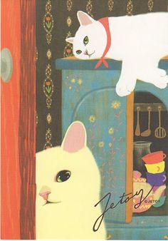 Jetoy Cats postcard