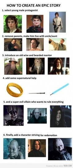 Harry potter lord of the rings and starwars