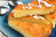 Receita de Bolo queijadinha - Comida e Receitas